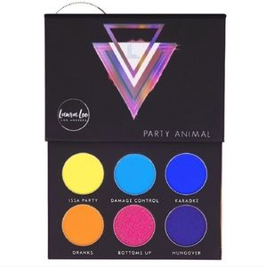 NWT Laura Lee PARTY ANIMAL palette